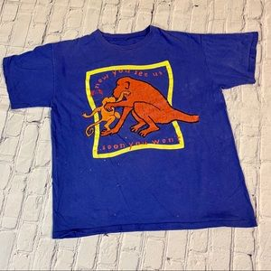 The Body Shop Vintage Monkeys Extinction T-Shirt